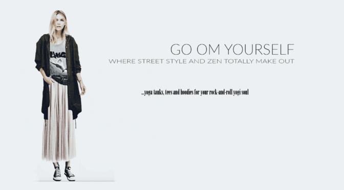 yoga tees Go OM Yourself